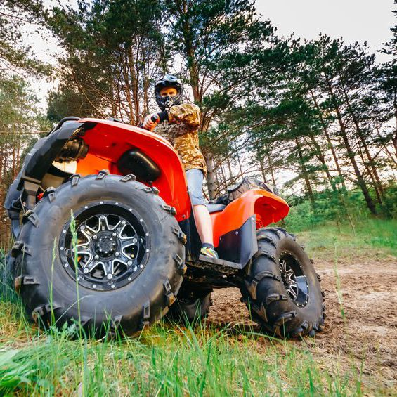 Rice Tire UTV/ATV Tires for Four Wheelers and Side-By-Side Off road vehicles