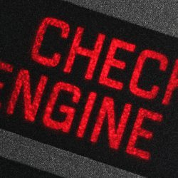 Rice Tire Check Engine Light Inspection